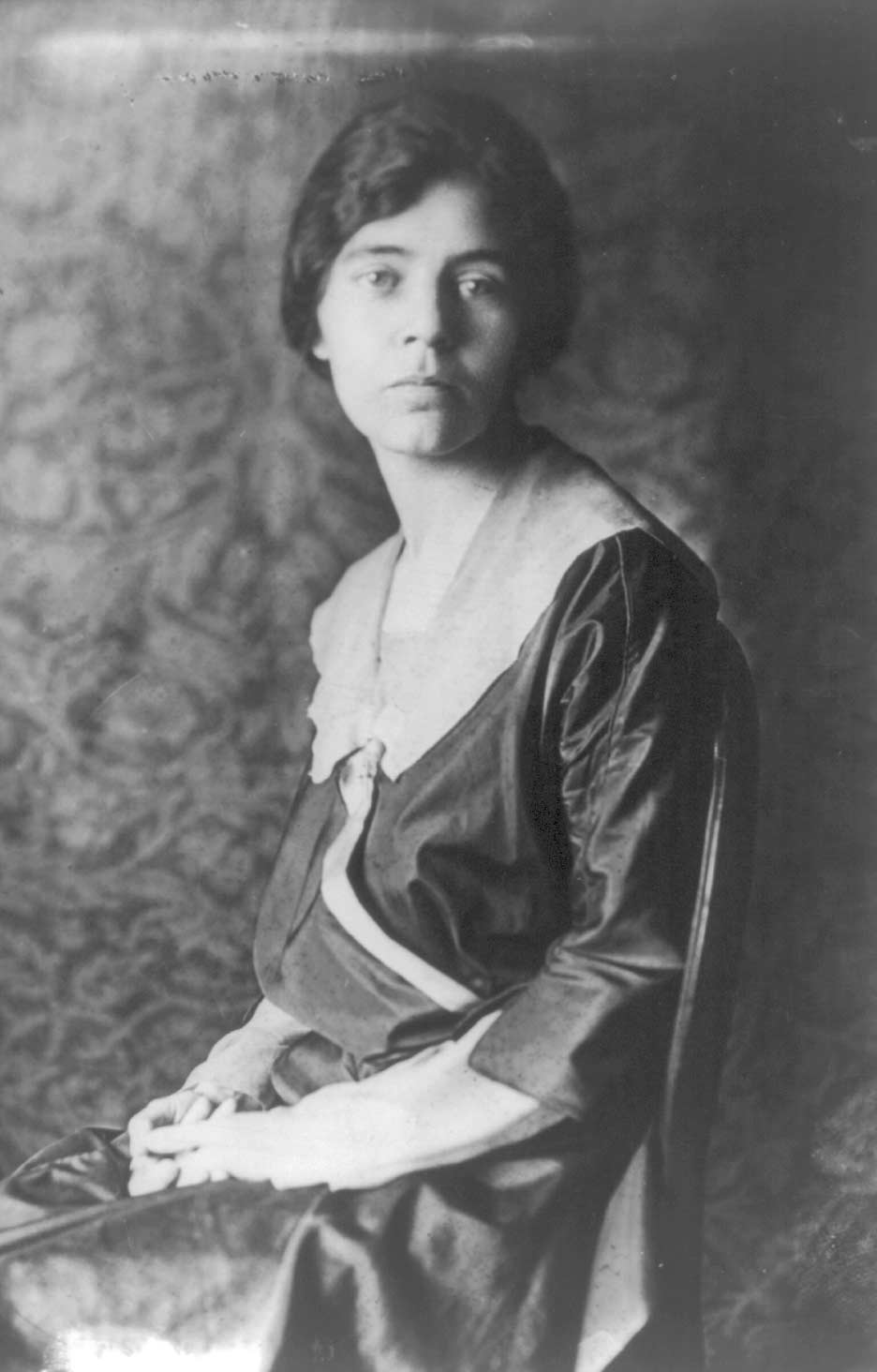 Alice Paul, ca. 1918 (Library of Congress)
