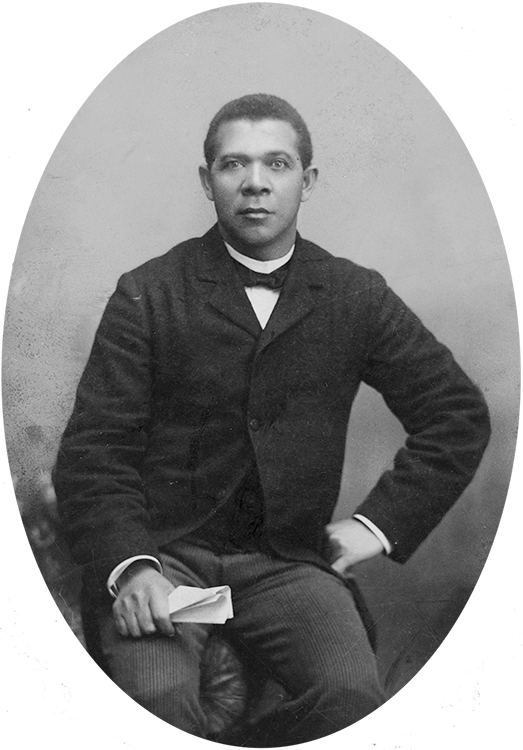 Booker T. Washington, ca. 1885, attributed to Harry Shepherd (Library of Congress)