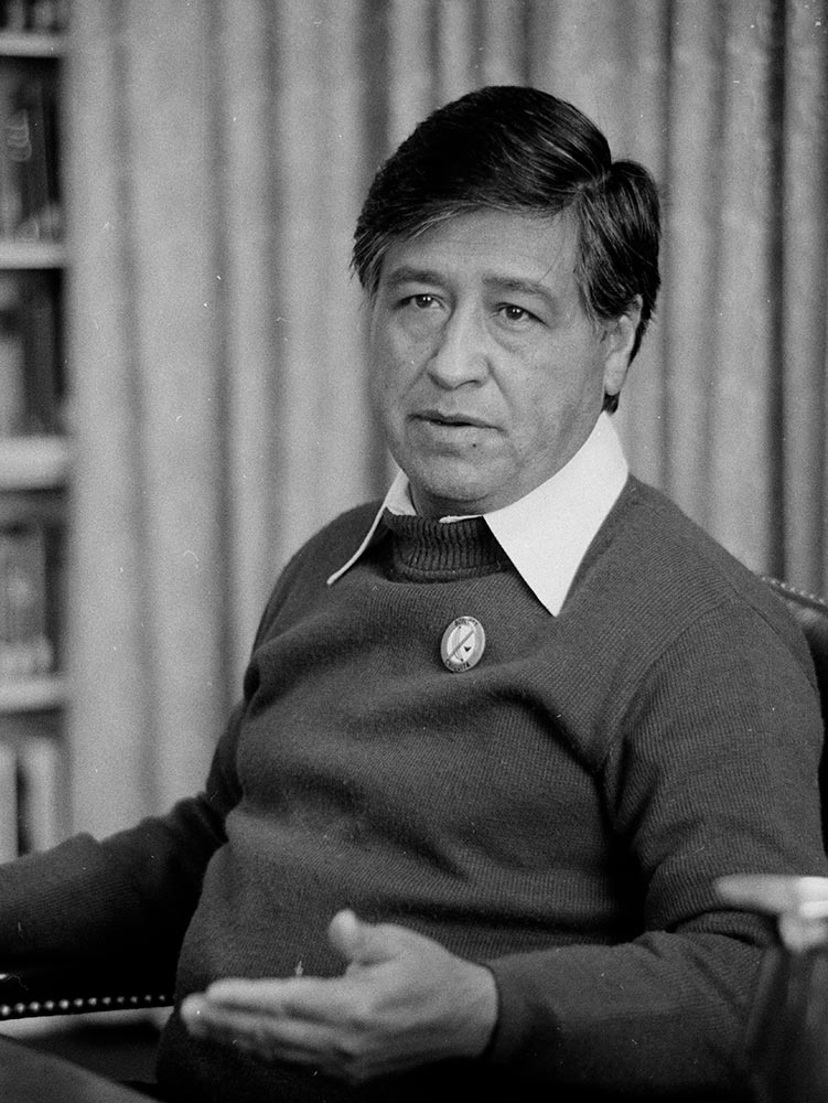 Cesar Chavez, photograph by Marion S. Trikosko, April 20, 1979 (Library of Congress)