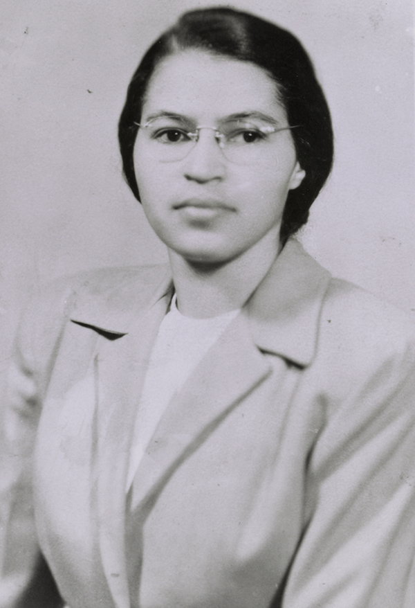 Rosa Parks, ca. 1956 (Library of Congress)