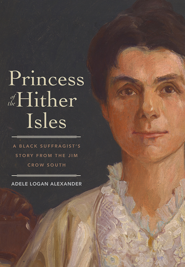 Cover of Adele Logan Alexander's forthcoming book, Princess of the Hither Isles.
