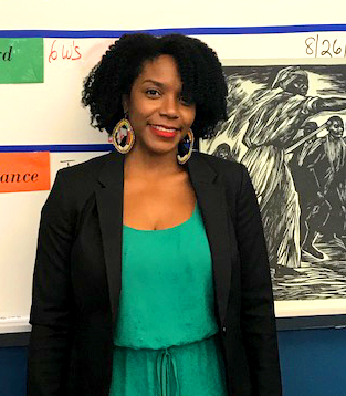 2019 National History Teacher of the Year Alysha Butler