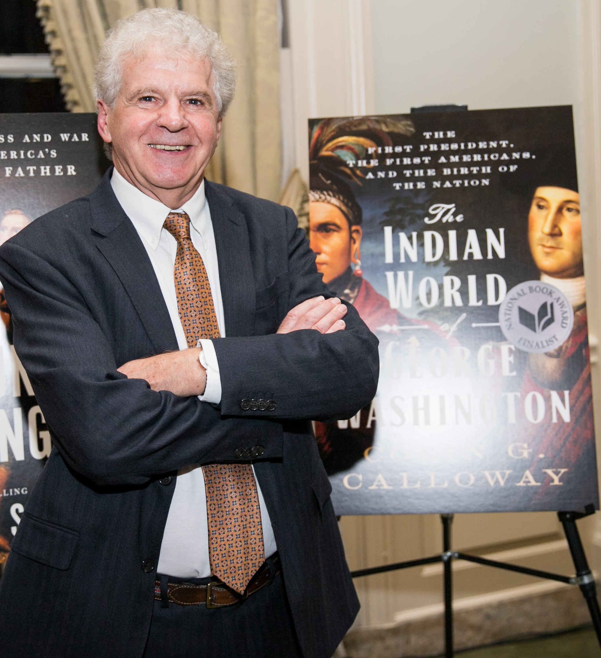Professor Colin Calloway won the 2019 George Washington Prize for his book <i>The Indian World of George Washington</i>.