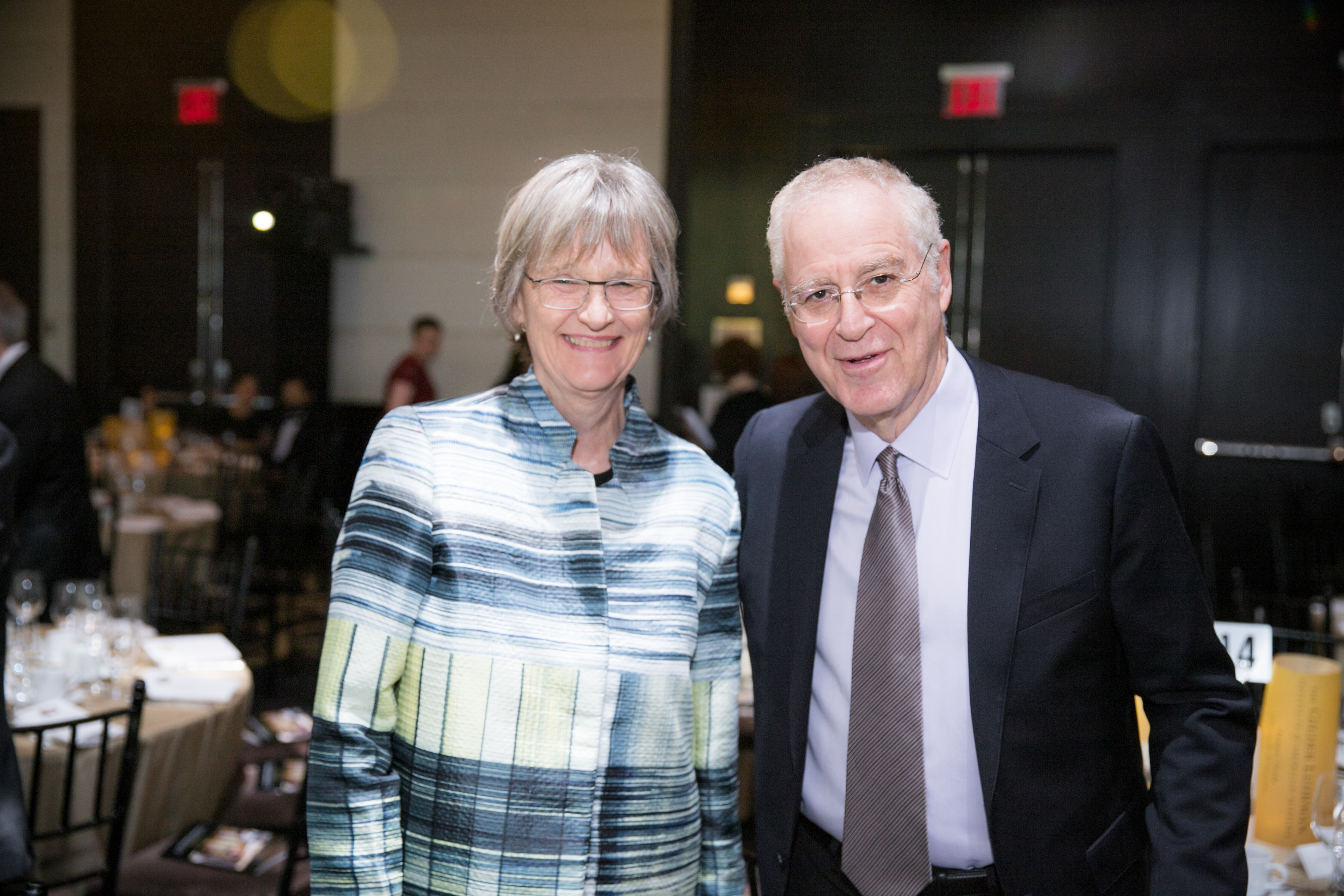 Gala Honorees Drew Gilpin Faust and Ron Chernow