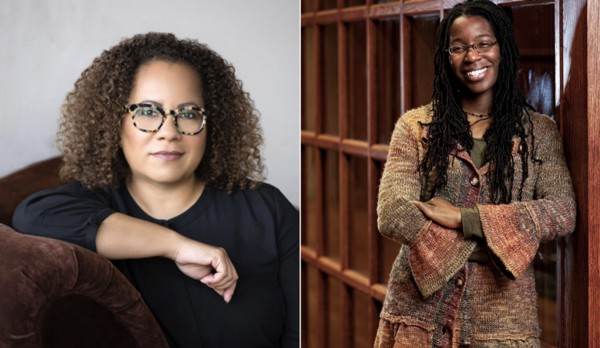 Erica Armstrong Dunbar and Tiya Miles, co-winners of the 2018 Frederick Douglass Book Prize