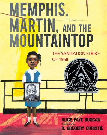"""Memphis, Martin, and the Mountaintop"" (Boyds Mills & Kane) by Alice Faye Duncan is the inaugural book to be read for #EduHamReads."