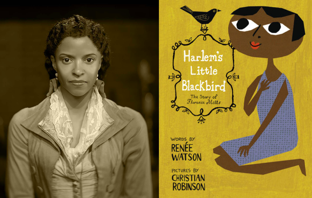 "On  July 17, 2020, the original Angelica, Renee Elise Goldsberry, read and discussed ""Harlem's Little Blackbird"" for the Hamilton Cast Read Along."