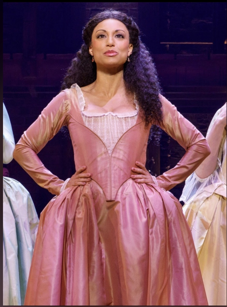 "Sabrina Sloan as ""Angelica"" from HAMILTON in 2019"