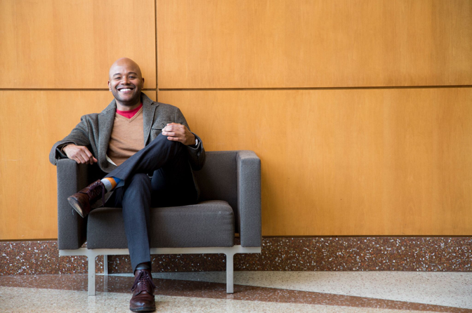 Peniel Joseph, Professor of History, Professor of Public Affairs, and Barbara Jordan Chair in Ethics and Political Values, University of Texas at Austin, teaches The Revolutionary Lives of Malcolm X and Martin Luther King Jr.