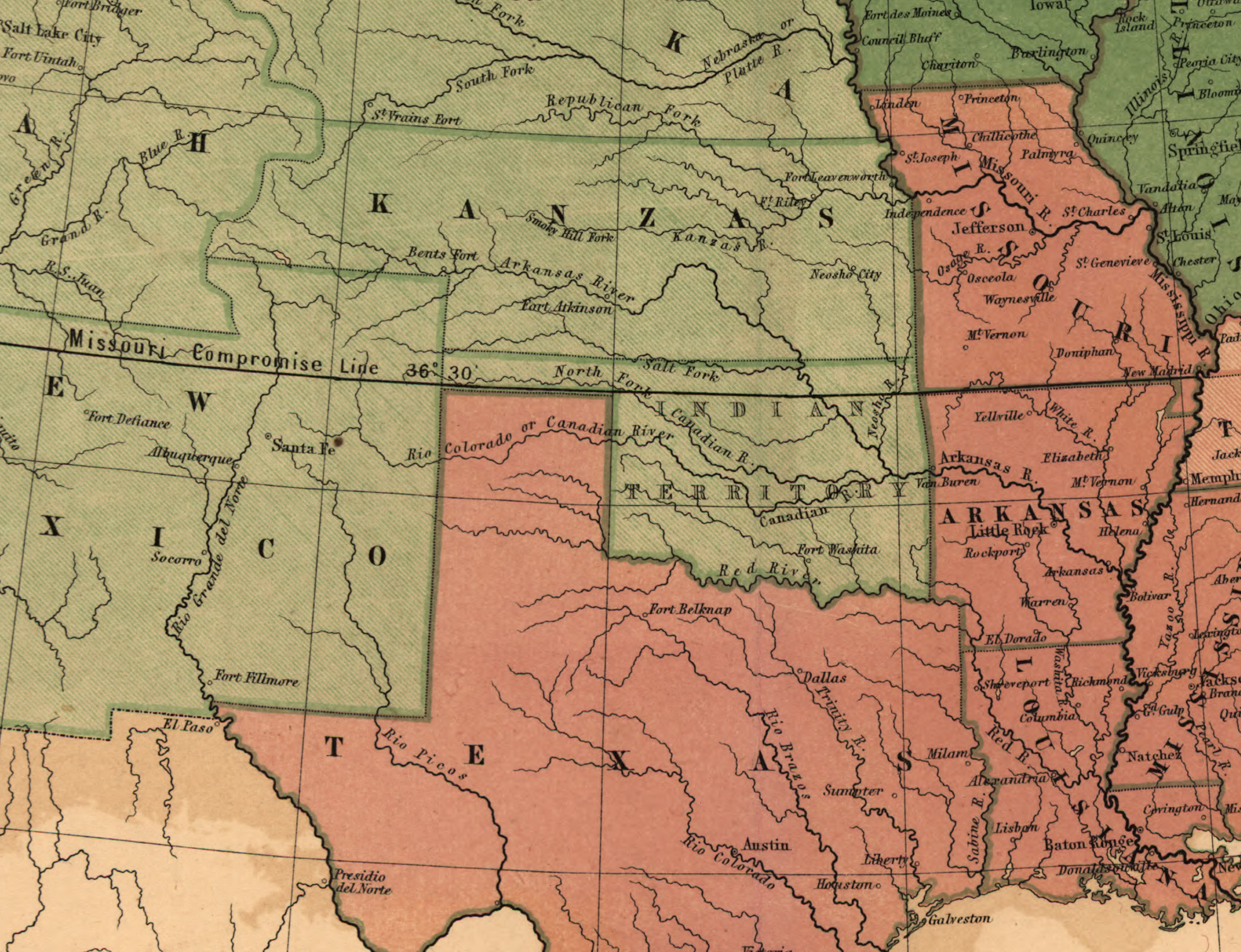 national expansion reform 1815 1860 the gilder lehrman the missouri compromise