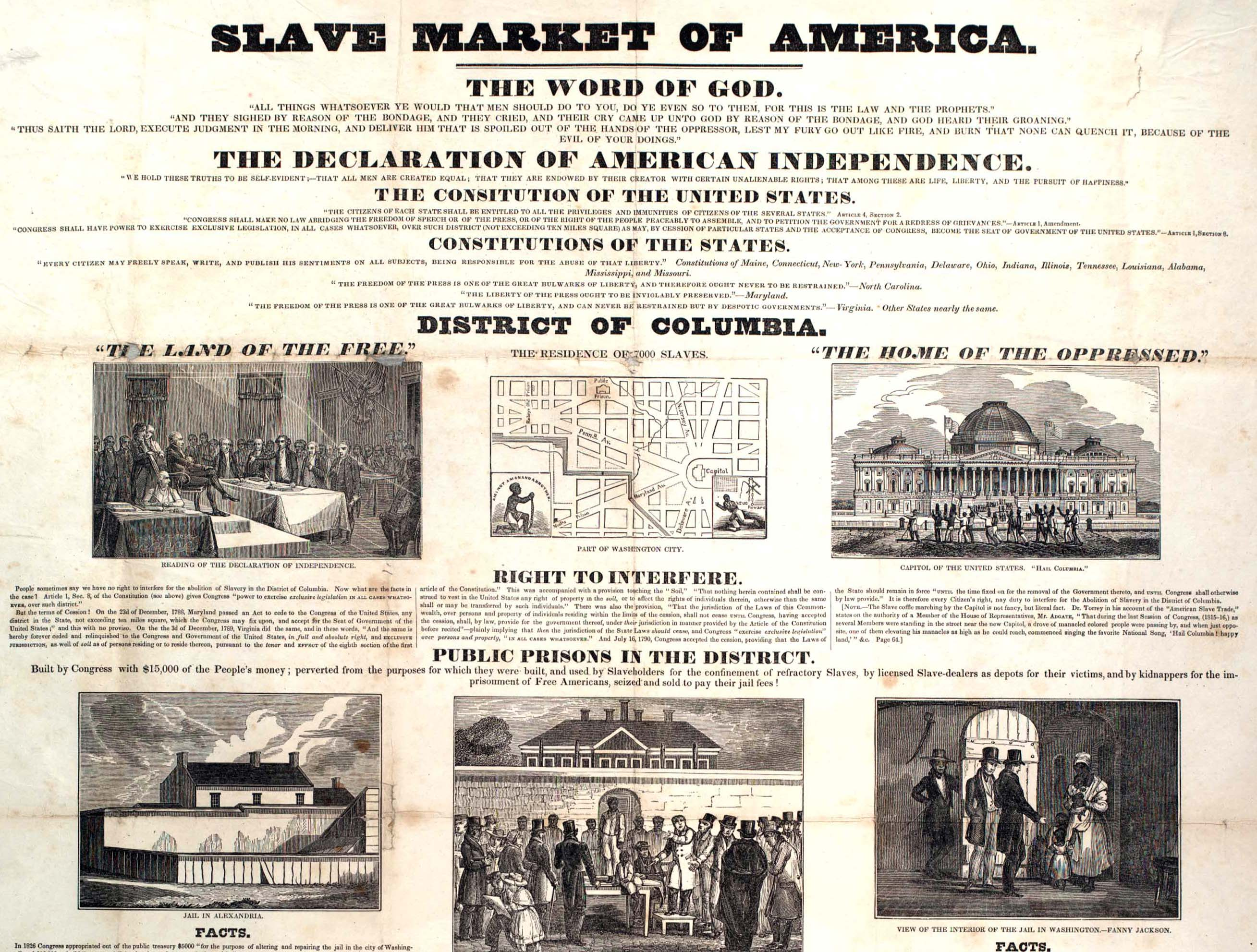 national expansion reform the gilder lehrman the american anti slavery society