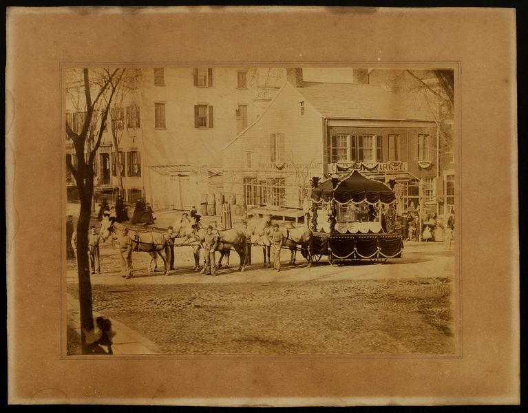Lincoln Funeral Caisson In New York Gilder Lehrman Institute Of