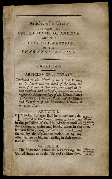 Collection of treaties | Gilder Lehrman Institute of