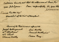 James Monroe to Thomas Rutter, November 13, 1816, on the Quakers' petition for a