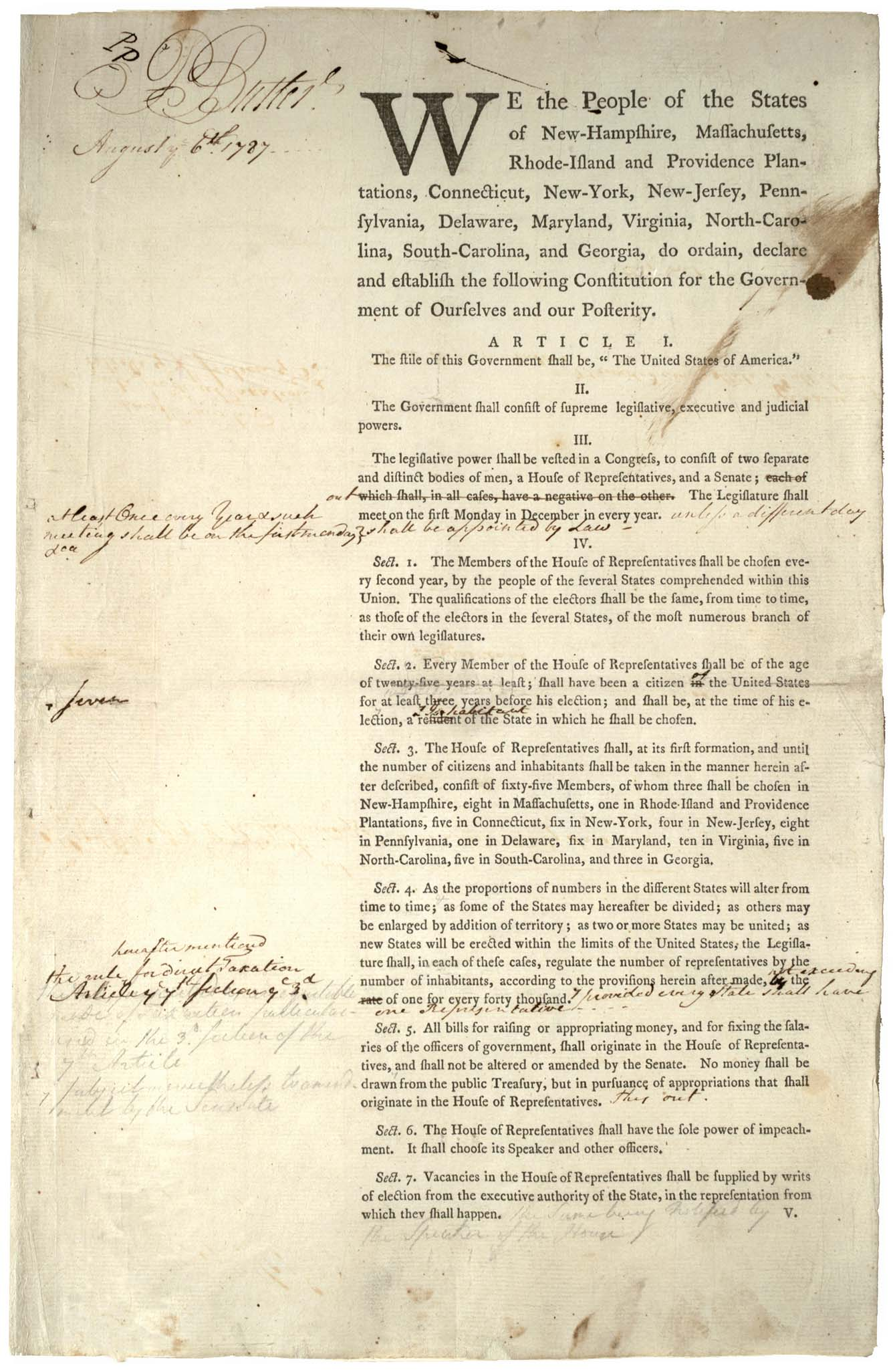 reasons for writing the constitution The articles failed for many reasons reasons the articles of confederation led to the ratification of the constitution: you can turn to other's writing help.