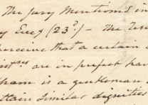 Aaron Burr to Joseph Alston, July 20, 1804 (GLC01523)
