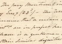 Aaron Burr to Joseph Alston, July 20, 1804 (GLC01523)