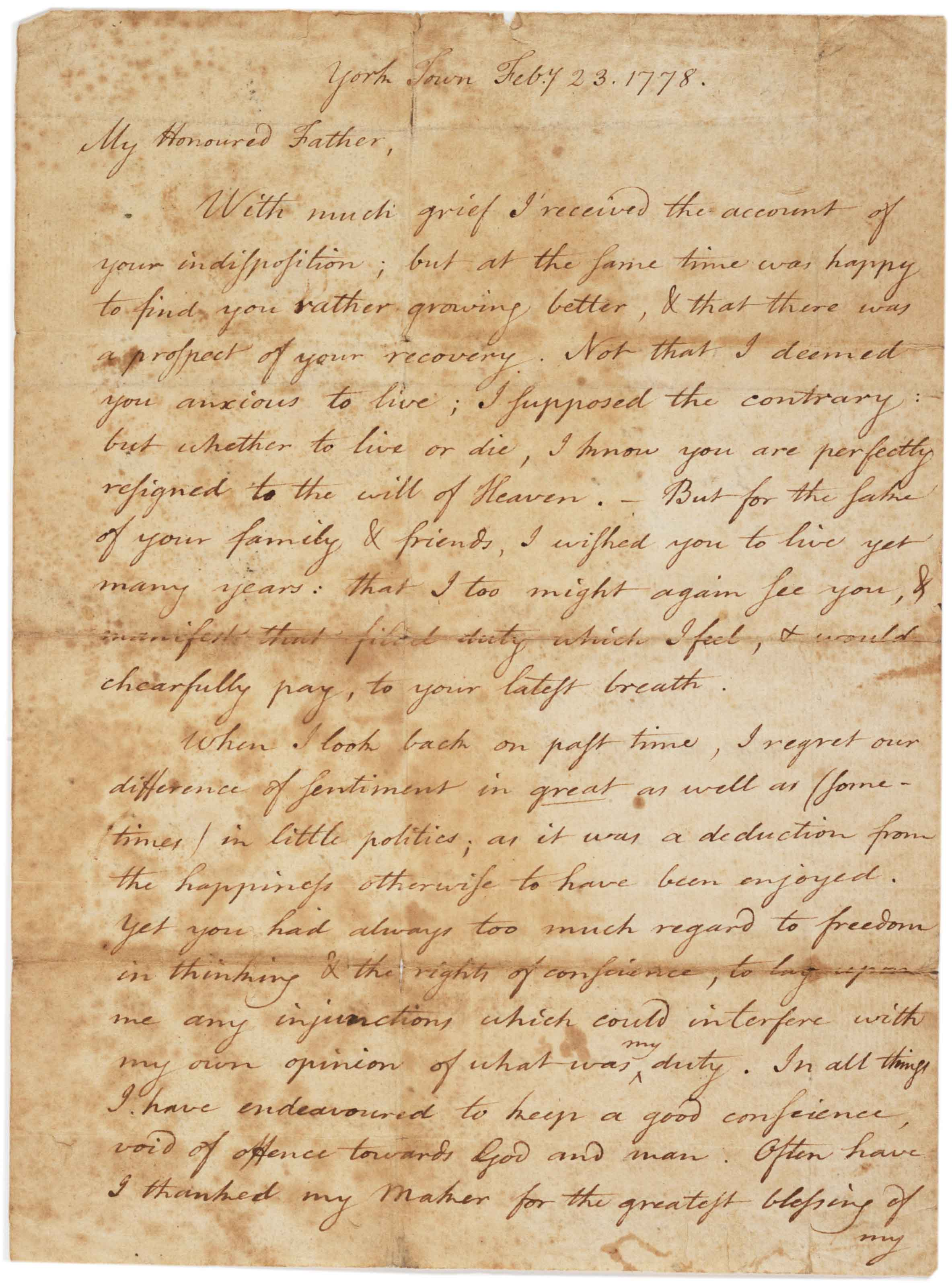 a patriot s letter to his loyalist father the gilder a patriot s letter to his loyalist father 1778