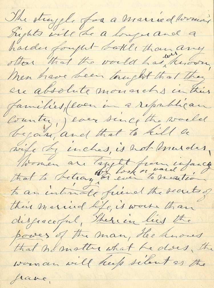 Anne Brown Adams to Alexander Ross,circa 1880s (GLC03007.53)