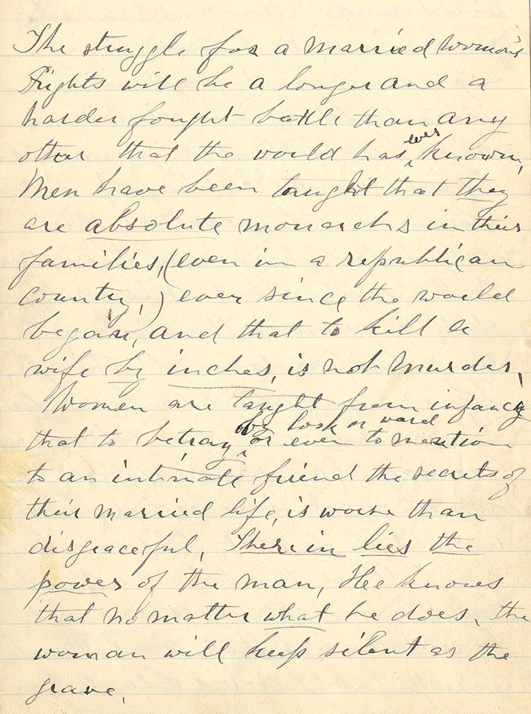 Anne Brown Adams to Alexander Ross,circa 1880s (GLC03007.53)
