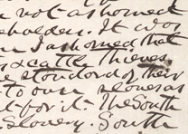 Letter from John S. Mosby to Sam Chapman, June 4, 1907. (GLC03921.21p1)
