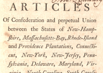 The Articles of Confederation, 1777 (GLC04759)