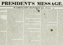 President's Annual Message to Congress, Washington Republican Extra, Dec. 2, 18