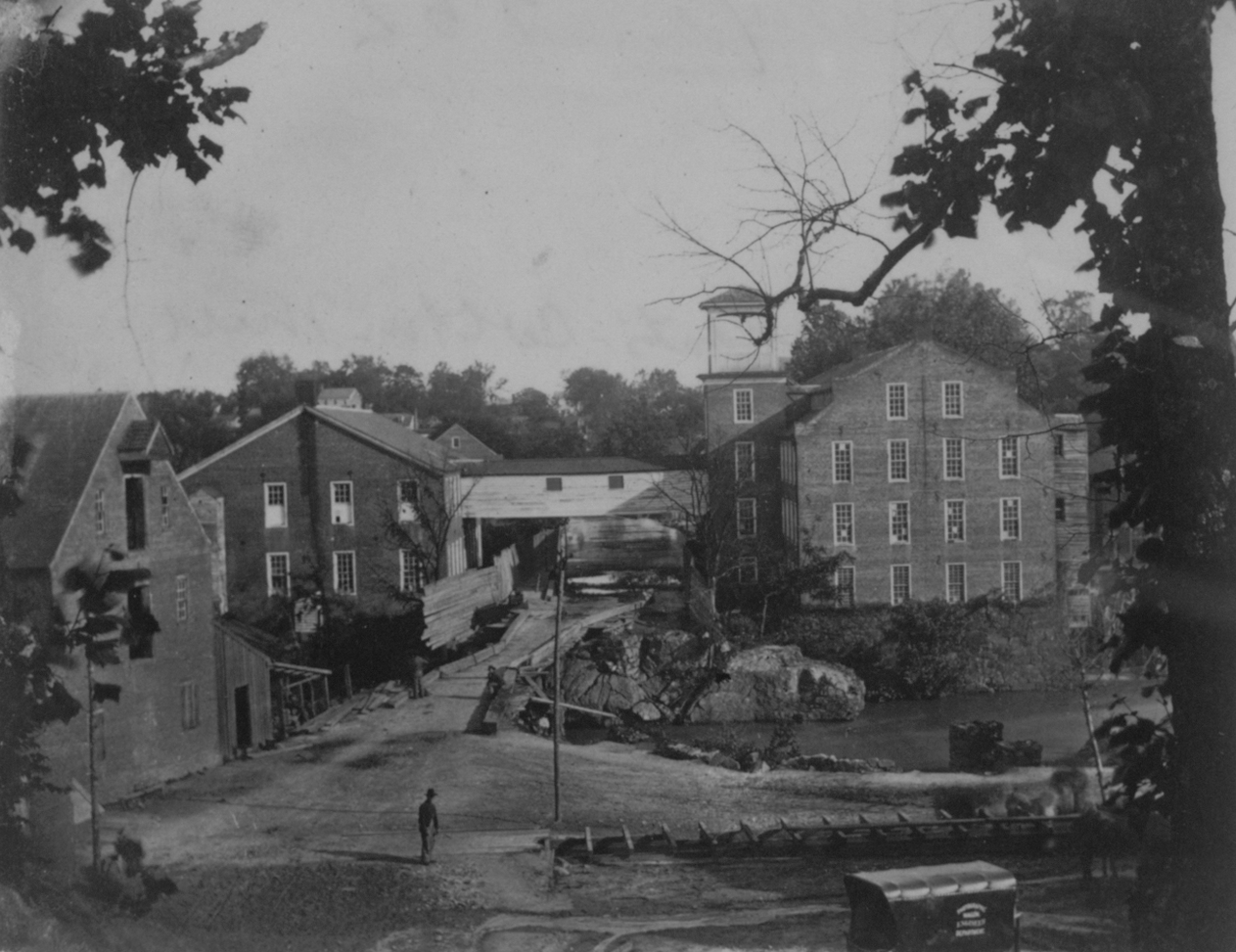 Merchants Cotton Mill, ca. 1861-1865 (Gilder Lehrman Institute)