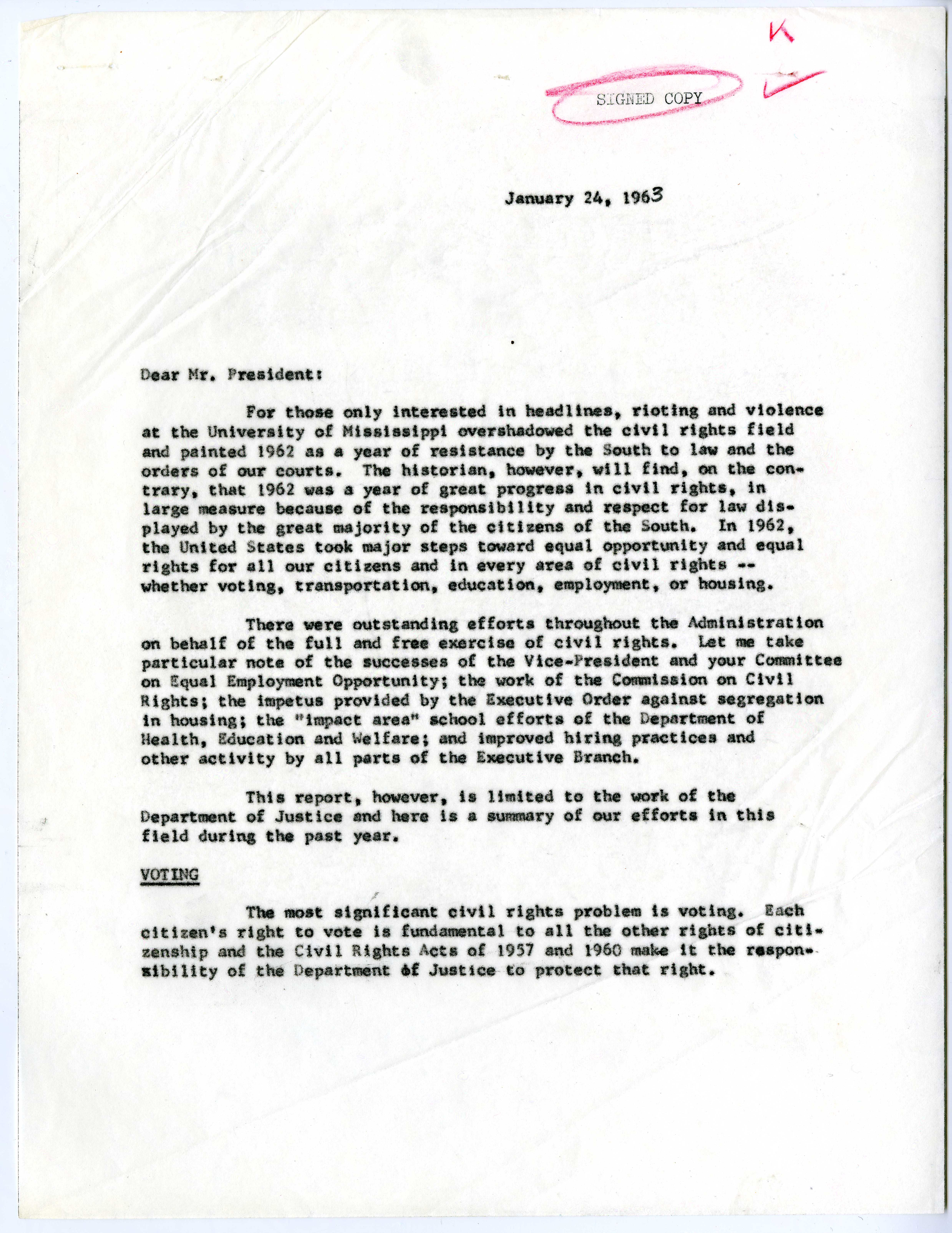 robert kennedy on civil rights 1963 the gilder lehrman robert f kennedy report to president john f kennedy regarding civil rights