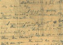 Paul Jones Semmes to Emily J. Semmes, July 9, 1863 (Gilder Lehrman Collection)