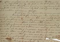 Aurelia Hale to her sister Sarah, June 11, 1821.  (GLC08934)