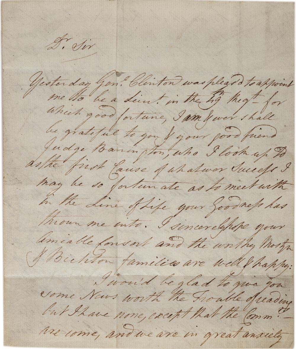 Samuel Mostyn to Thomas Pennant, June 7, 1778. (GLC09023)