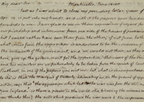 Thomas Jefferson to James Maury Esq., June 16, 1815. (Gilder Lehrman Collection)