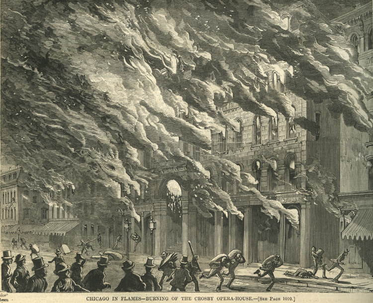 An eyewitness account of the Great Chicago Fire, 1871 | The Gilder ...