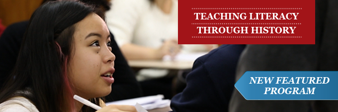 Connect American history with the Common Core with our latest professional development