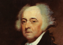 John Adams, by Asher B. Durand (Naval Historical Center)