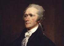 Alexander Hamilton, John Trumbull Copy after: Giuseppe Ceracchi 1806
