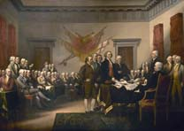 Declation of Independence, John Trumbull, U.S. Capitol Rotunda