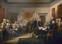 Declation of Independence, John Trumbull, U.S. Capitol Rotunda
