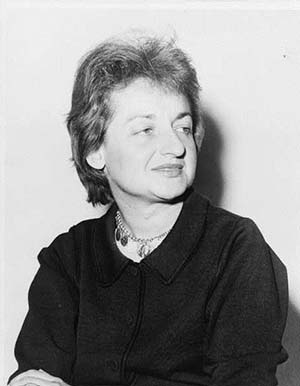 Betty Friedan, 1960 (Library of Congress)