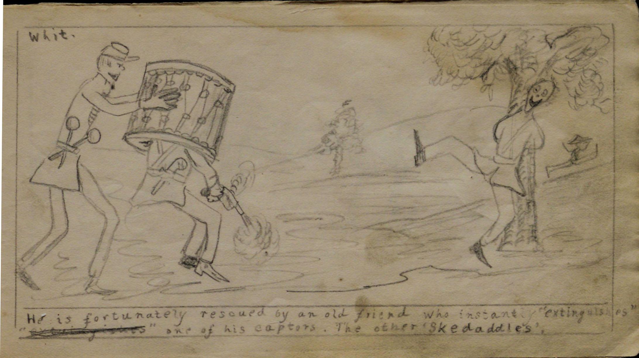 a civil war soldier s sketchbook gilder lehrman institute of