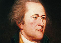 Alexander Hamilton, by Charles Willson Peale, ca. 1790 (Independence NHP)