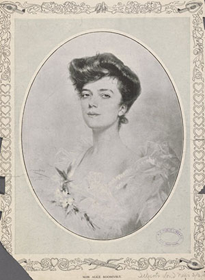 Alice Roosevelt, n.d. (The New York Public Library Digital Collections)