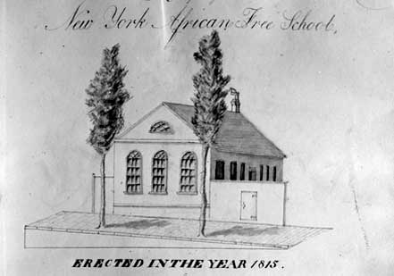 African Free School Records, Vol. IV, 1816-1826 (New-York Historical Society)