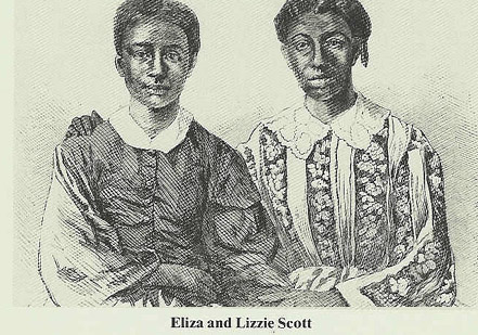 Dred Scott's Daughters, from Frank Leslie's Illustrated Newspaper, June 27, 1857
