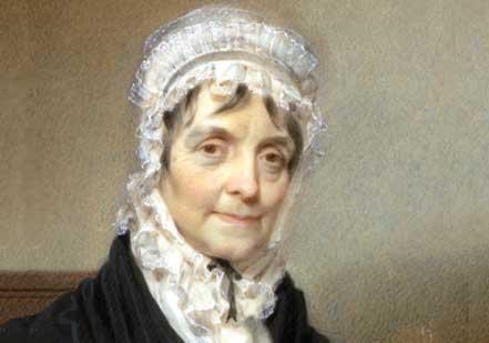 Elizabeth Hamilton by Henry Inman, 1825 (New-York Historical Society)