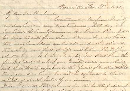 The first page of a letter from Maxine Jones in Cornersville, Tennessee, to her