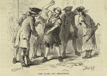 The Stamp Act denounced, Lossing's History of the United States of America