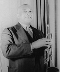 W. C. Handy, 1941. Photograph by Carl Van Vechten. (Library of Congress)