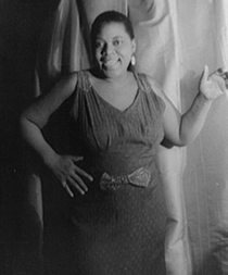 Bessie Smith, 1936. Photograph by Carl Van Vechten. (Library of Congress)